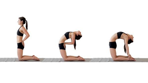 10 tư thế yoga dễ tập dành cho các cô nàng muốn vận động ở công sở - Ảnh 4.