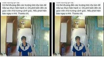 Hà Nội: Một thanh niên lạ lẻn vào khu WC trường tiểu học, sàm sỡ học sinh - Ảnh 1.