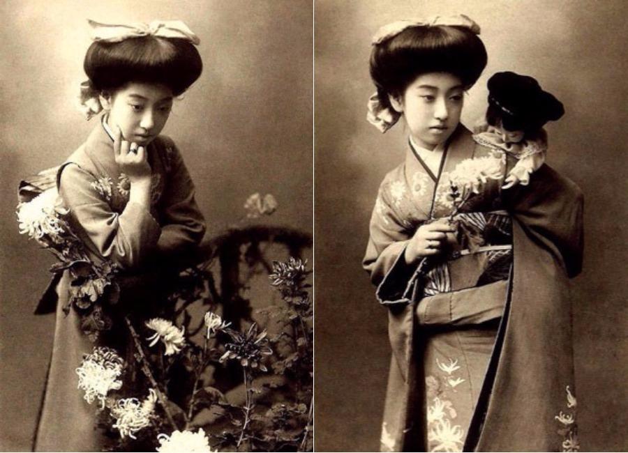 Cuộc đời ly kỳ của Geisha chín ngón nổi tiếng nhất Nhật Bản: Trẻ đa tình hàng nghìn người khao khát, cuối đời đi tu, chết trong đơn độc - Ảnh 3.