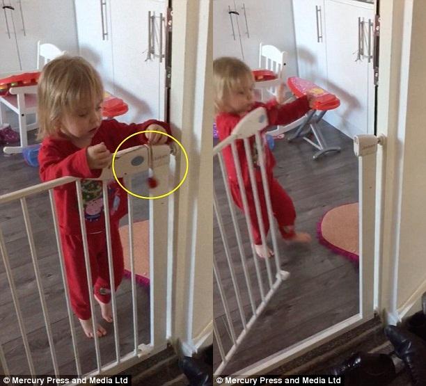 Màn vượt ngục bằng sợi dây chuyền đồ chơi gây sốc của cô bé 2 tuổi  - Ảnh 4.
