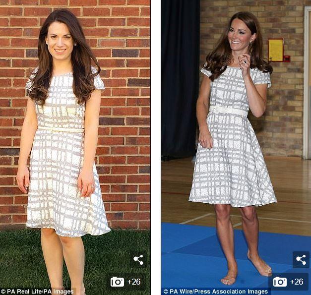 Một fan mê Kate đến nỗi sao chép gần như toàn bộ những thiết kế mà Công nương từng mặc - Ảnh 4.