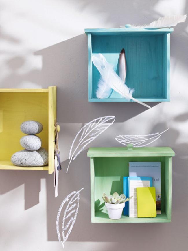 11 ý tưởng sử dụng kệ treo tường đầy ấn tượng khiến ngôi nhà đẹp lên trong thoáng chốc - Ảnh 5.