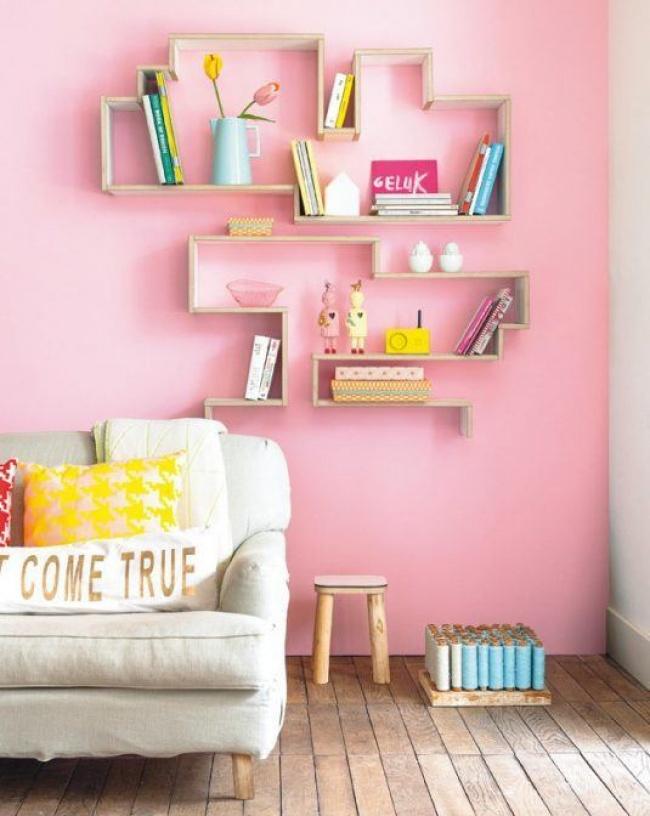 11 ý tưởng sử dụng kệ treo tường đầy ấn tượng khiến ngôi nhà đẹp lên trong thoáng chốc - Ảnh 7.