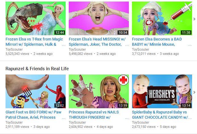 Có thể bạn không tin nhưng con bạn đang bị Youtube đầu độc hàng ngày như thế này đây - Ảnh 3.