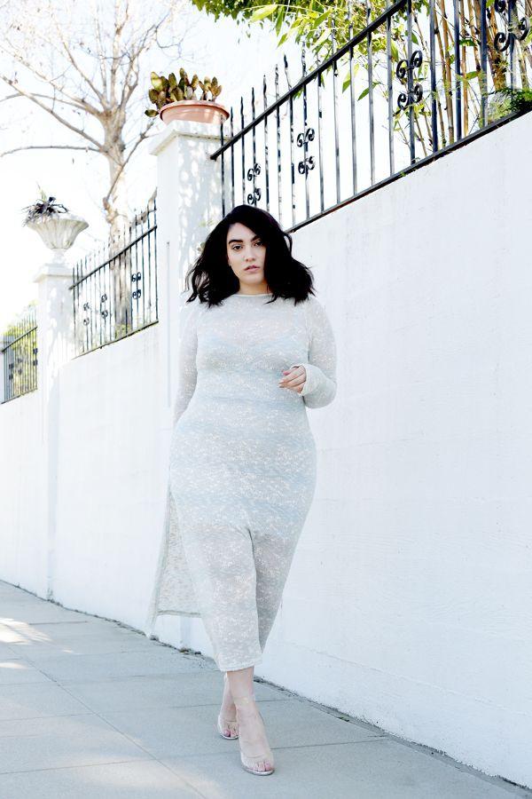Những cách diện đồ mà nàng ngoại cỡ có thể tham khảo để mặc trong mùa đông này - Ảnh 8.