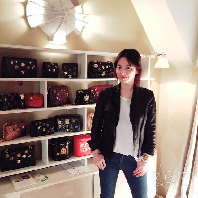 Song Hye Kyo chơi trội  - Ảnh 3.
