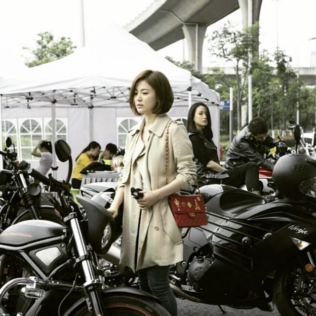 Song Hye Kyo chơi trội  - Ảnh 4.