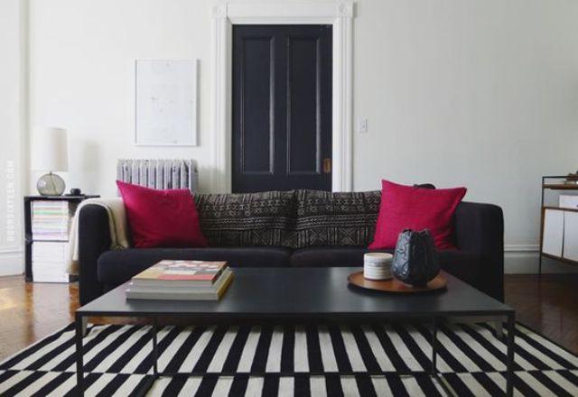 Những ý tưởng sử dụng ghế sofa Stockholm trong phòng khách cực ấn tượng   - Ảnh 22.