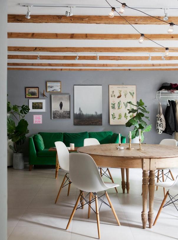 Những ý tưởng sử dụng ghế sofa Stockholm trong phòng khách cực ấn tượng   - Ảnh 20.