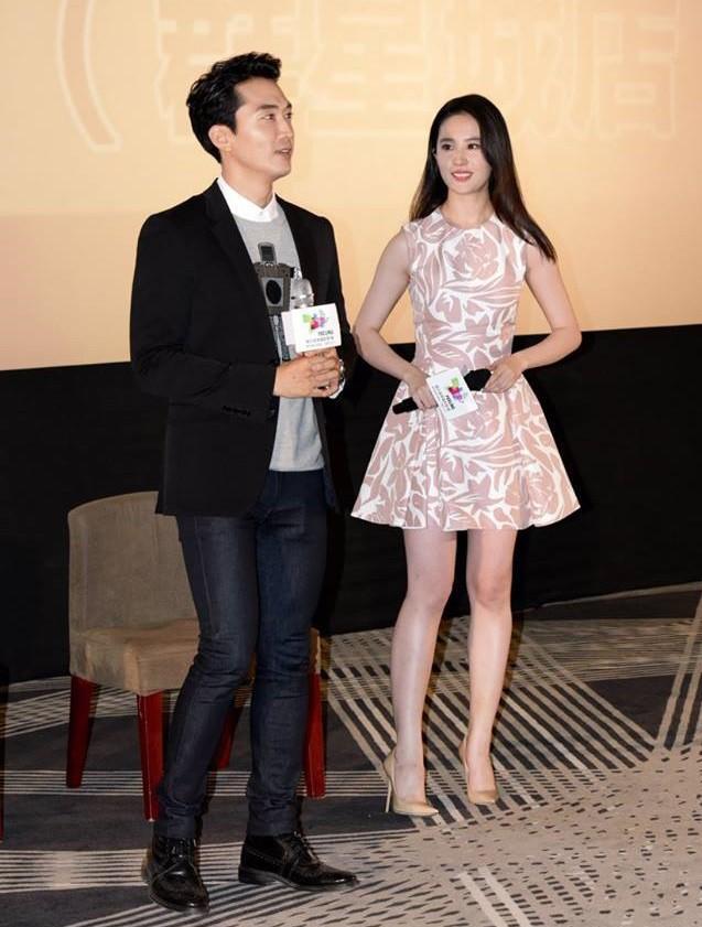 Trước khi chia tay, Lưu Diệc Phi và Song Seung Hun đã có phong cách thời trang đẹp và ăn ý thế này cơ mà - Ảnh 5.
