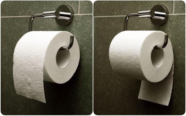 Đặt giấy vệ sinh theo chiều nào là đúng? Tranh cãi kinh điển suốt trăm năm cuối cùng cũng có lời giải - Ảnh 1.