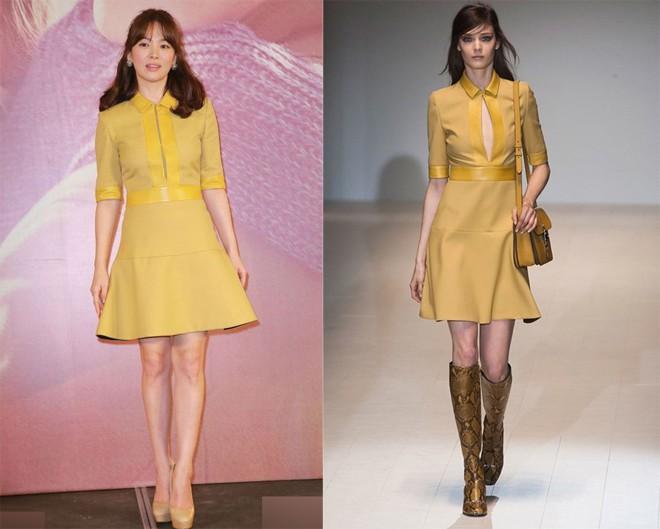 """Nghịch lý Song Hye Kyo: Ăn vận kiểu cách thì """"sến"""" nhưng luộm thuộm chút lại chất đừng hỏi - Ảnh 7."""