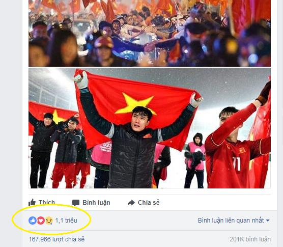 Trang cá nhân của Bùi Tiến Dũng chạm mức 1,4 triệu người theo dõi, fan đào lại bao status ngô nghê thời con nít - Ảnh 1.