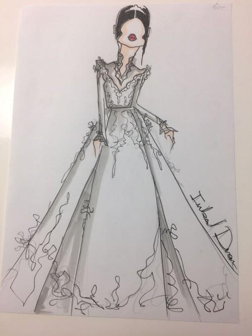 Những chiếc váy cưới hàng hiệu nằm trong tầm ngắm của 'lọ lem' Meghan Markle - Ảnh 2.