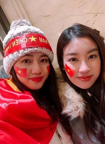 Hoa hậu Đỗ Mỹ Linh lần đầu lên tiếng sau khi âm thầm xuất hiện ở Thường Châu để cổ vũ cho U23 Việt Nam - Ảnh 3.