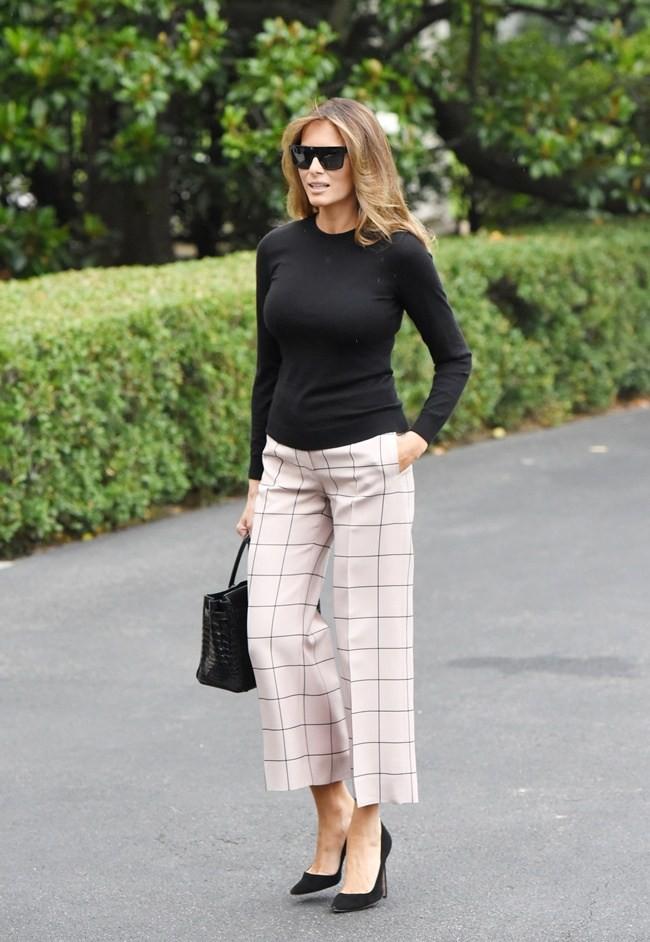Đệ nhất phu nhân Melania Trump cũng chỉ thường xuyên diện đi diện lại đôi giày đơn giản này - Ảnh 5.