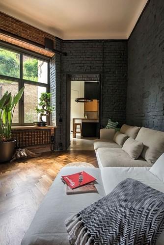 Căn hộ chung cư 35 m2 có gác lửng khiến nhiều người thích mê - Ảnh 11.