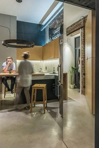 Căn hộ chung cư 35 m2 có gác lửng khiến nhiều người thích mê - Ảnh 13.