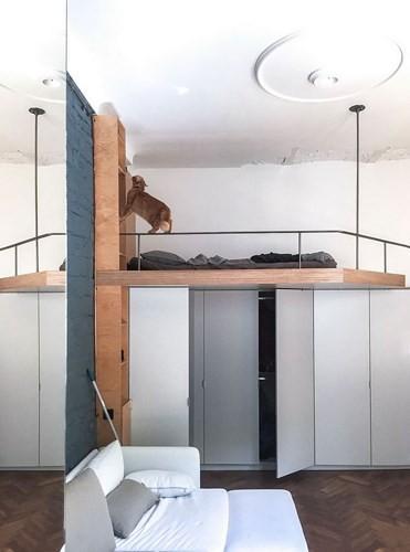 Căn hộ chung cư 35 m2 có gác lửng khiến nhiều người thích mê - Ảnh 9.