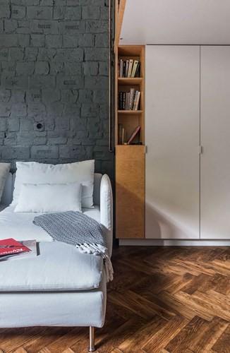 Căn hộ chung cư 35 m2 có gác lửng khiến nhiều người thích mê - Ảnh 10.