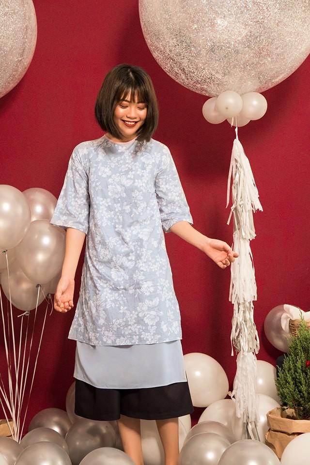 Còn đúng 1 tháng nữa là Tết, và đây là 7 mẫu áo dài cách tân đẹp duyên nhất cho nàng diện trong Tết này - Ảnh 22.