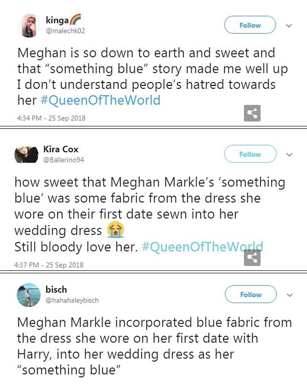 Hơn 4 tháng sau đám cưới, Meghan tiết lộ bí mật giấu bên trong chiếc váy cưới hơn 6 tỷ đồng khiến người hâm mộ lịm tim đòi học theo - Ảnh 8.