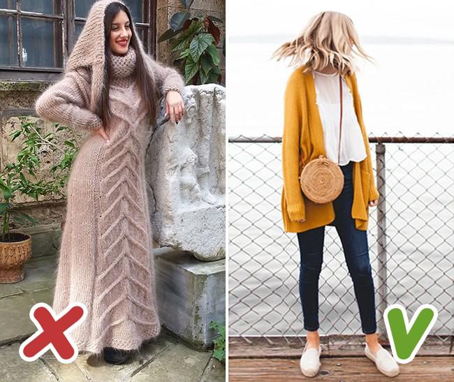 7 kiểu trang phục mùa thu mà nhiều chị em tưởng là sành điệu nhưng thật ra lại là sai lầm trầm trọng - Ảnh 5.