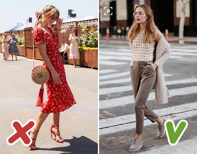 7 kiểu trang phục mùa thu mà nhiều chị em tưởng là sành điệu nhưng thật ra lại là sai lầm trầm trọng - Ảnh 6.