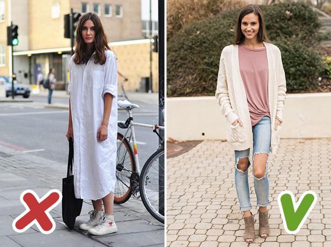 7 kiểu trang phục mùa thu mà nhiều chị em tưởng là sành điệu nhưng thật ra lại là sai lầm trầm trọng - Ảnh 7.