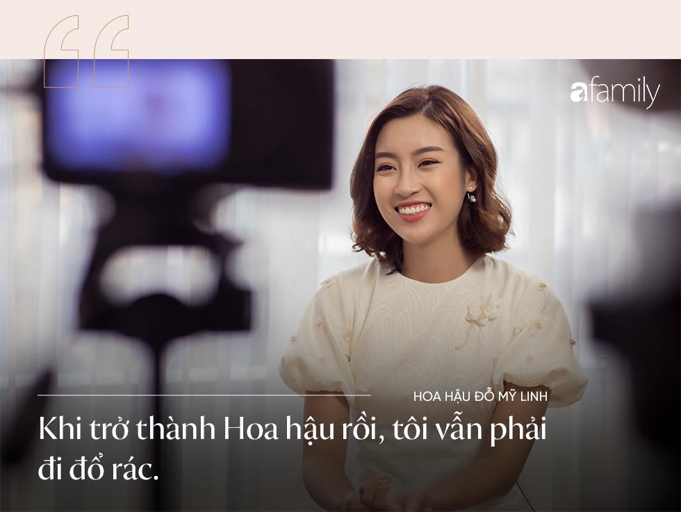 Hoa hậu Đỗ Mỹ Linh: Tôi đã phải cố gắng rất nhiều, giờ lẽ nào lại dành tình yêu cho một chàng trai kém cỏi - Ảnh 11.