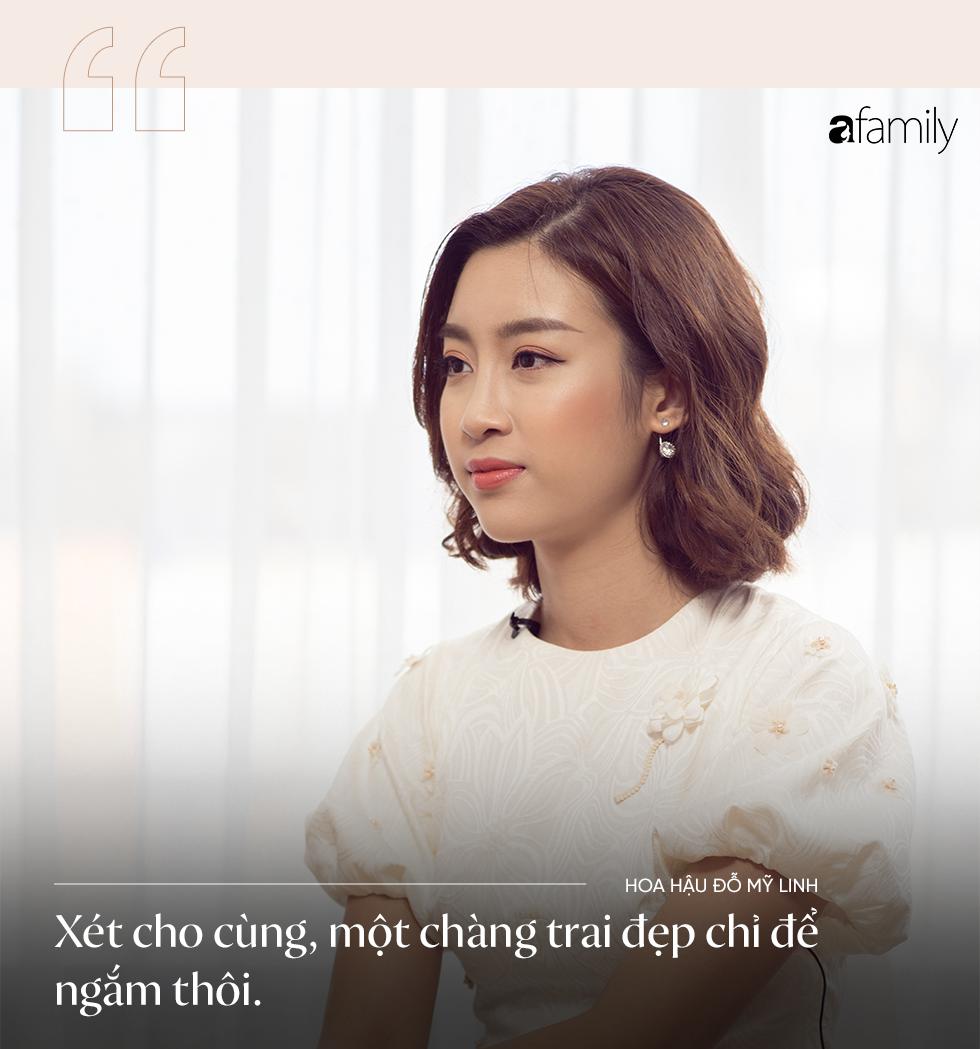 Hoa hậu Đỗ Mỹ Linh: Tôi đã phải cố gắng rất nhiều, giờ lẽ nào lại dành tình yêu cho một chàng trai kém cỏi - Ảnh 8.