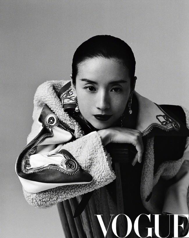 Hai nàng Phú Sát Hoàng Hậu đụng độ nhan sắc trên bìa tạp chí: Tần Lam - Đổng Khiết ai hơn ai? - Ảnh 4.