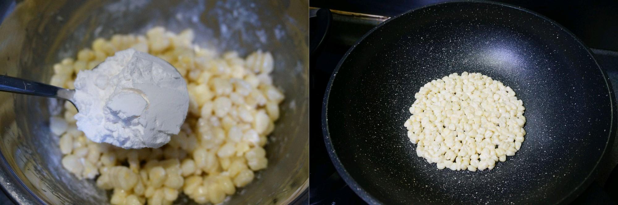 Cách làm món bánh ngô chiên