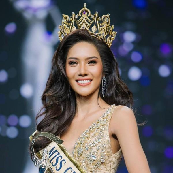 Đối thủ nặng ký của Phương Nga tại Miss Grand 2018: nhan sắc giống Lan Khuê như tạc, khi cười lại na ná Thụy Vân - Ảnh 1.