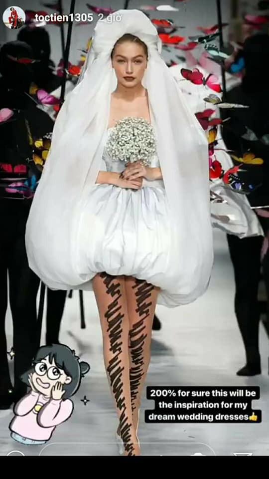 Chưa biết cưới Touliver hay không, chỉ chắc rằng đây là kiểu váy cưới mà Tóc Tiên muốn mặc nếu có ngày trọng đại ấy - Ảnh 1.