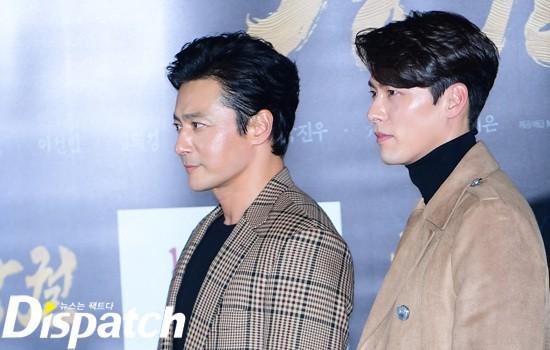 Cùng đẹp trai phong độ, Hyun Bin và Jang Dong Gun hôm qua còn có chung cả làn da bóng nhẫy như vừa skincare 10 bước - Ảnh 2.