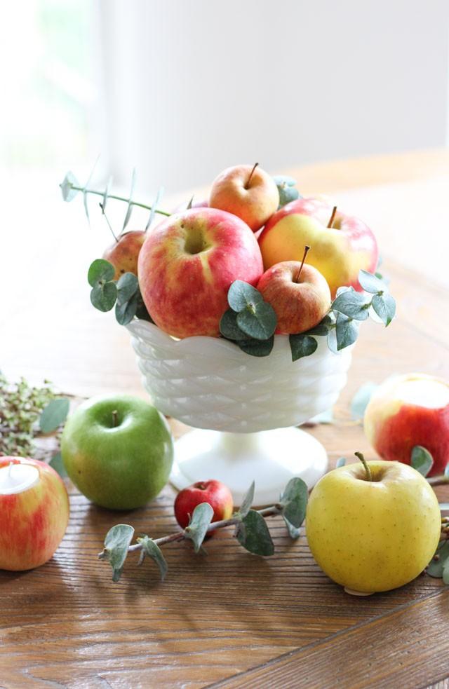 Trang trí nhà thần diệu đậm sắc thu từ hoa quả xinh yêu, có sẵn trong mùa - Ảnh 1.