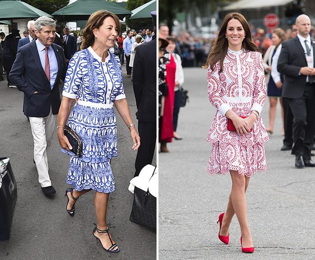 Các thánh soi đã ra tay và tia được Công nương Kate Middleton cùng mẹ đẻ rất hay mặc đồ giống nhau - Ảnh 3.