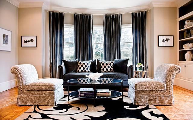 Điều gì khiến cho càng ngày càng có nhiều gia đình lựa chọn kiểu rèm cửa dài cho nhà mình - Ảnh 9.