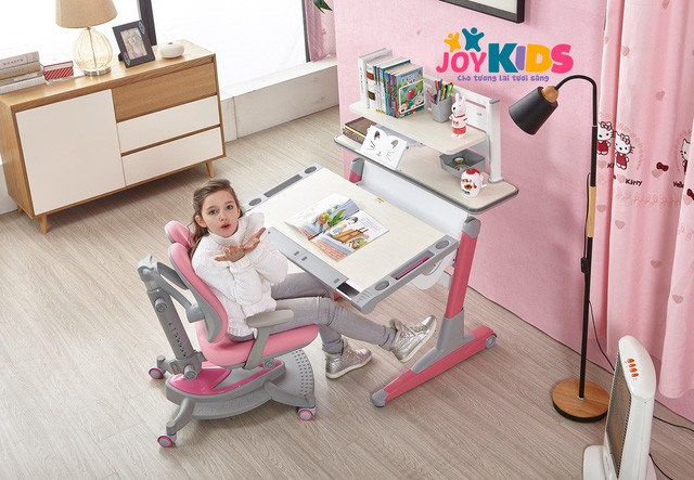 Bàn ghế thông minh - giải pháp chống gù, chống cận cho trẻ hiệu quả - Ảnh 3.