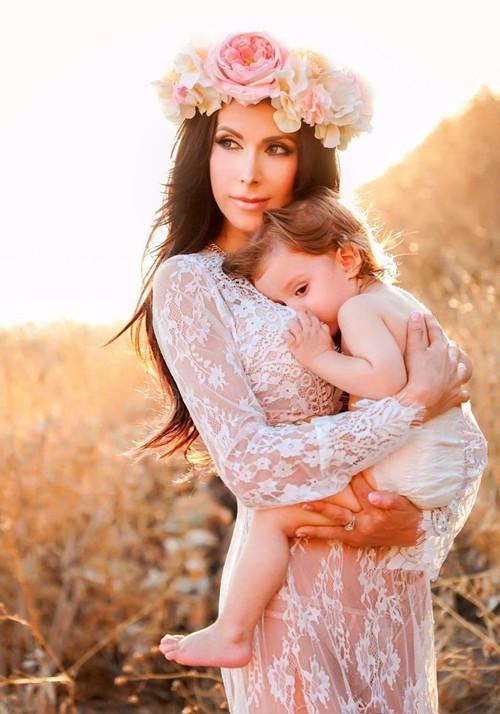 Mẹ bỉm sữa nóng bỏng nhất hành tinh khoe ảnh bụng bầu gần 7 tháng mà vẫn săn chắc như không - Ảnh 5.