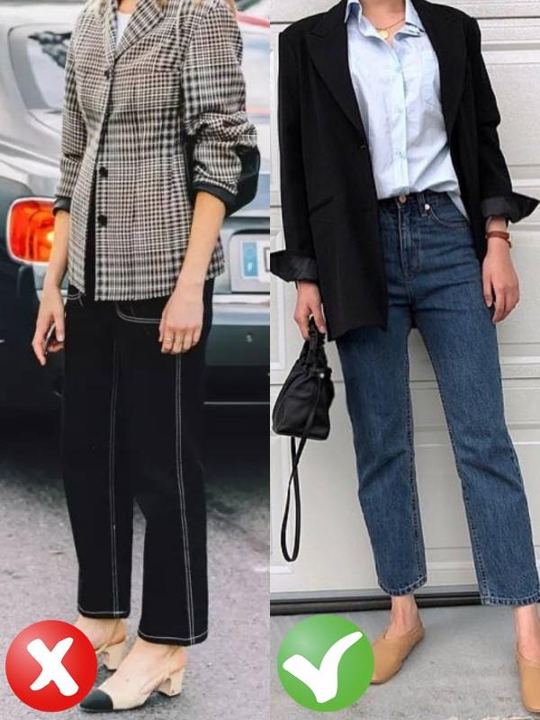 Jeans + blazer: Có 3 tips để giúp bạn trông thanh lịch hơn khi mặc bộ đôi này - Ảnh 2.