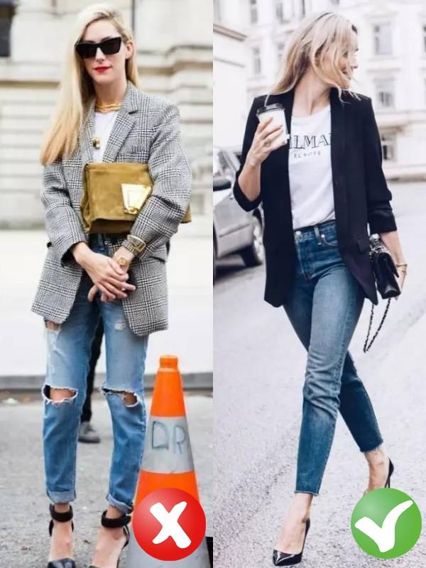Jeans + blazer: Có 3 tips để giúp bạn trông thanh lịch hơn khi mặc bộ đôi này - Ảnh 3.