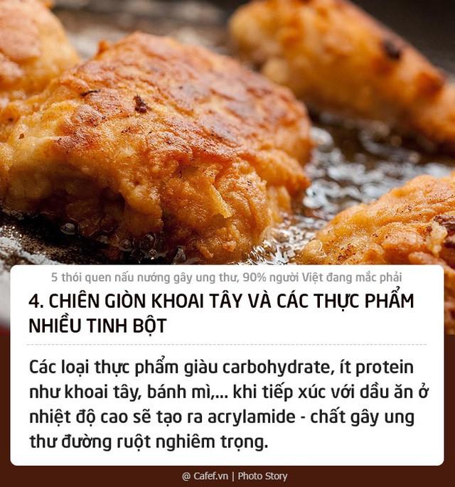 5 thói quen nấu nướng gây ung thư, 90% người Việt đang mắc phải: Thay đổi ngay nếu không muốn con cái cũng phải chịu nạn! - Ảnh 4.