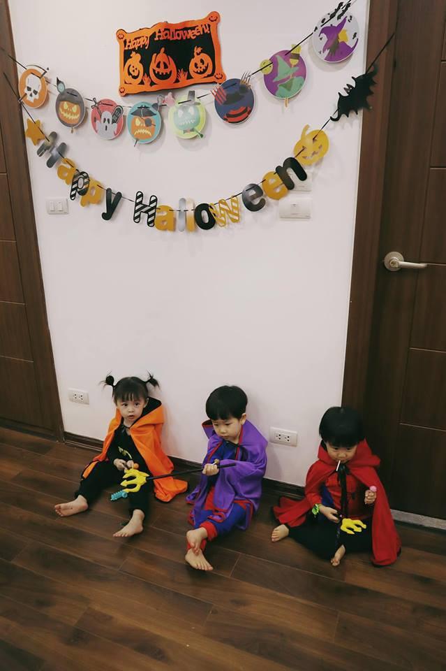 Halloween cập bến 3 gia đình hot nhất MXH: Xoài - Cam - Đậu biến hóa thành những siêu anh hùng dễ thương - Ảnh 9.