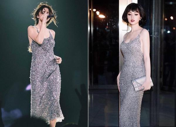 Tái xuất đẹp ngẩn ngơ nhưng Tâm Tít lại dính nghi án mặc váy nhái của Selena Gomez từ 2 năm trước - Ảnh 7.