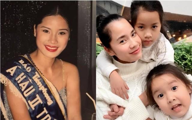 Cuộc sống viên mãn, an yên của mẹ 3 con Ngô Thúy Hà, Á hậu HHVN 1998 sau 20 năm đăng quang - Ảnh 1.