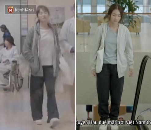 Có tâm như Khả Ngân: Đóng phim remake là cũng diện luôn trang phục giống Song Hye Kyo cho vẹn toàn - Ảnh 7.
