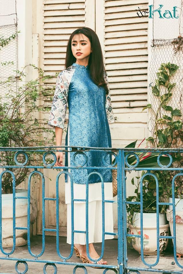 Còn đúng 1 tháng nữa là Tết, và đây là 7 mẫu áo dài cách tân đẹp duyên nhất cho nàng diện trong Tết này - Ảnh 28.