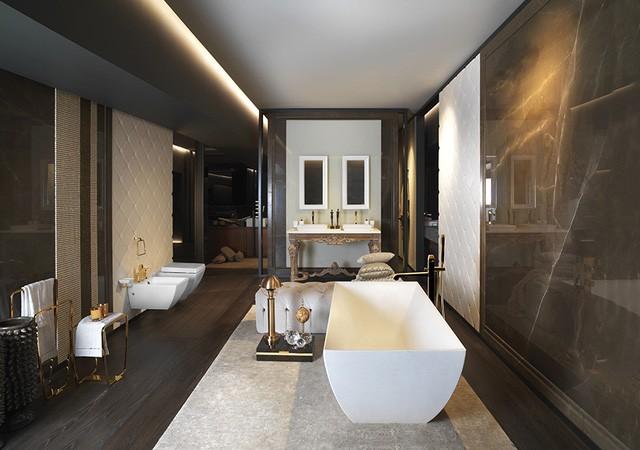 Bí quyết lựa chọn thiết bị vệ sinh cho không gian phòng tắm tiện nghi - Ảnh 3.